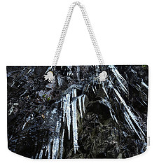 Smoky Mountain Ice Weekender Tote Bag