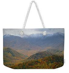 Smoky Mountain Mist Weekender Tote Bag