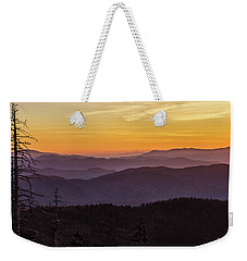 Smoky Mountain Morning Weekender Tote Bag