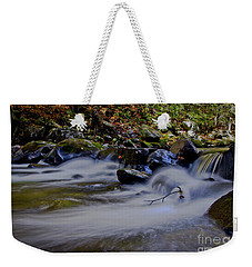Weekender Tote Bag featuring the photograph Smoky Mountain Stream by Douglas Stucky
