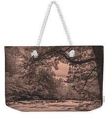 Smoky Mountain Stream Weekender Tote Bag