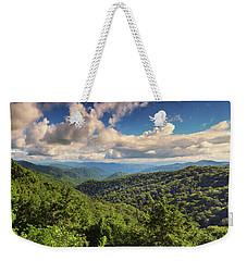 Smoky Mountains Panorama Weekender Tote Bag