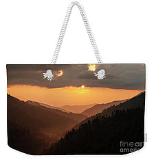 Smoky Mountains Sunset - D010157 Weekender Tote Bag