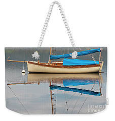 Weekender Tote Bag featuring the photograph Smooth Sailing by Werner Padarin