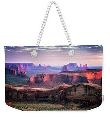 Smooth Sunset Weekender Tote Bag