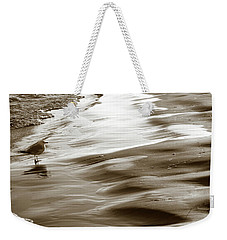 Weekender Tote Bag featuring the photograph Smooth Waves by Marilyn Hunt