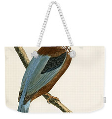 Smyrna Kingfisher Weekender Tote Bag by English School