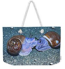 Snail Kisses Weekender Tote Bag