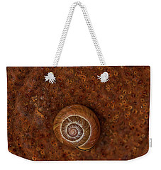 Snail On A Tin Can Weekender Tote Bag