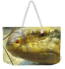 Snake Eye Weekender Tote Bag