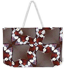 Snake I Weekender Tote Bag by Maria Watt