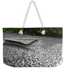 Snake In The Sun Weekender Tote Bag
