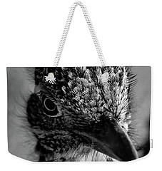 Snake Killer Black And White Weekender Tote Bag