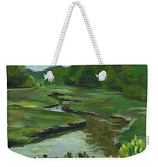 Snake Like Creek I Me Weekender Tote Bag