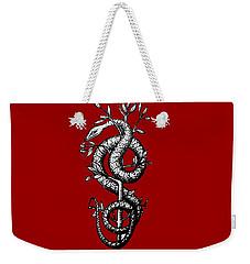 Snake Of Wisdom Weekender Tote Bag