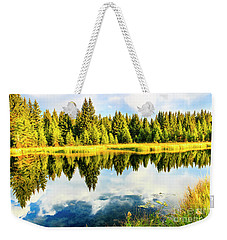 Snake River Grand Teton National Park Weekender Tote Bag