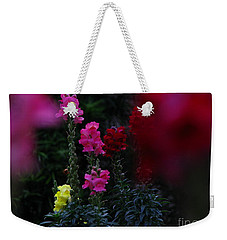 Weekender Tote Bag featuring the photograph Snapdragon by Greg Patzer
