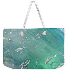 Snappa Fish, Pacific Ocean Weekender Tote Bag by Yurix Sardinelly