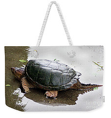 Snapping Turtle Weekender Tote Bag