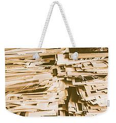 Snapshots From Times Worn Weekender Tote Bag