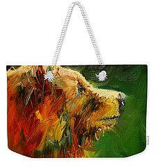 Sniffing For Food Bear Weekender Tote Bag