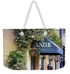 Snob Weekender Tote Bag