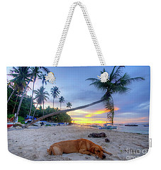 Weekender Tote Bag featuring the photograph Snooze by Yhun Suarez