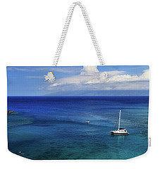 Weekender Tote Bag featuring the photograph Snorkeling In Maui by James Eddy