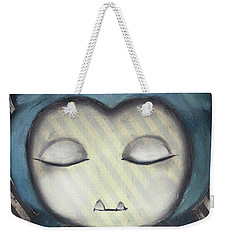 Snorlax Weekender Tote Bag by Abril Andrade Griffith
