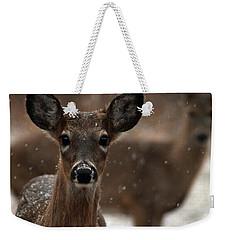 Snow Again 2 Weekender Tote Bag