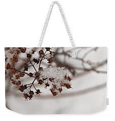 Snow And Growth Weekender Tote Bag