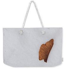 Snow And Key Weekender Tote Bag