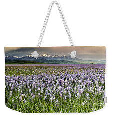 Snow And Lily Weekender Tote Bag
