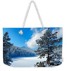 Snow At Beaver Brook Weekender Tote Bag