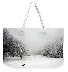 Snow Bound Weekender Tote Bag