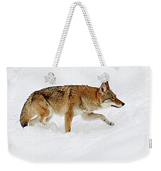 Snow Bound Weekender Tote Bag by Steve McKinzie