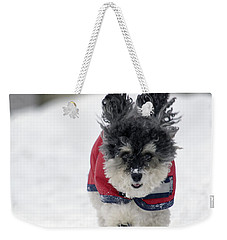 Snow Charge Weekender Tote Bag