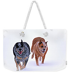 Snow Buddies Weekender Tote Bag