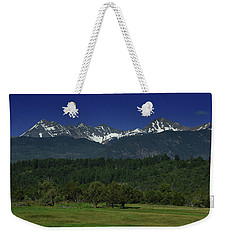 Snow Capped Mountains 2 Weekender Tote Bag