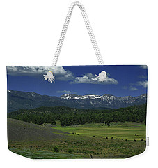 Snow Capped Mountains 3 Weekender Tote Bag
