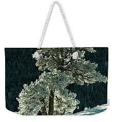 Snow Covered Tree - 9182 Weekender Tote Bag
