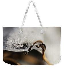 Snow Cryrstals Weekender Tote Bag
