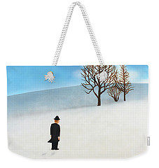 Snow Day Weekender Tote Bag by Thomas Blood