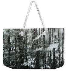 Snow Down Weekender Tote Bag