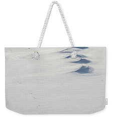Snow Drifts Weekender Tote Bag