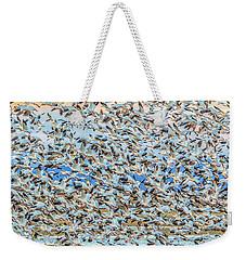 Snow Geese Fly Off Weekender Tote Bag