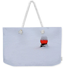 Weekender Tote Bag featuring the photograph Snow Globe by Nick Kloepping