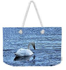 Snow Goose Weekender Tote Bag