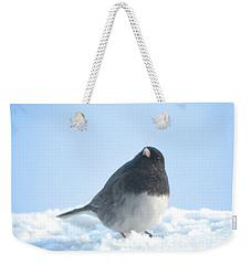 Snow Hopping #2 Weekender Tote Bag