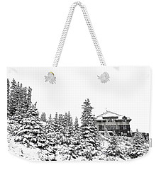 Snow In July 2 Weekender Tote Bag by Teresa Zieba